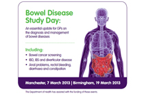 Bowel disease study day