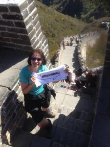 Deborah #ihaveguts steps