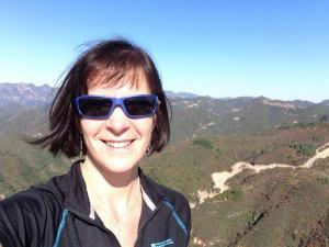 Deborah Three County Stone selfie