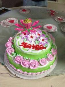 Deborah's birthday cake