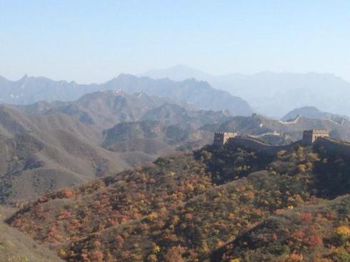 Great Wall lunch view