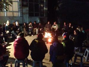 Trekker campfire