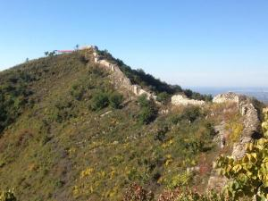 Unrepaired section of Great Wall of China