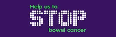 stop bowel cancer banner